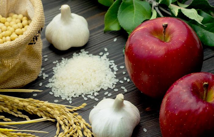 恵まれた栽培環境による良質なクオリティー ふじさき産品